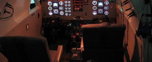 Flugsimulator (FNPT II)